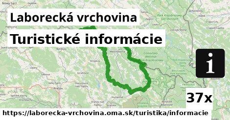 ilustračný obrázok k Turistické informácie, Laborecká vrchovina