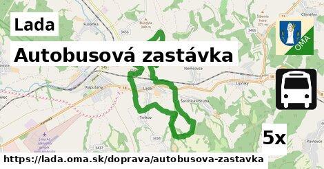ilustračný obrázok k Autobusová zastávka, Lada