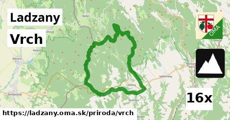 vrch v Ladzany