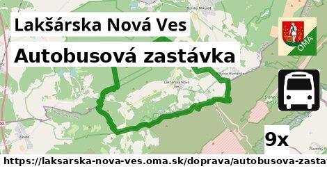 ilustračný obrázok k Autobusová zastávka, Lakšárska Nová Ves
