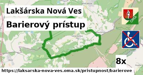 barierový prístup v Lakšárska Nová Ves