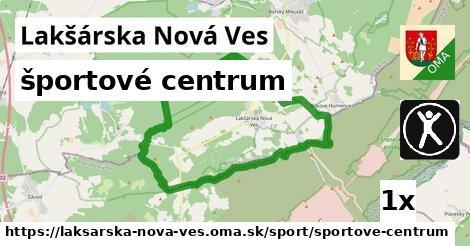 športové centrum v Lakšárska Nová Ves