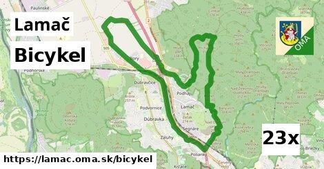 bicykel v Lamač