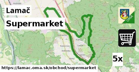 supermarket v Lamač