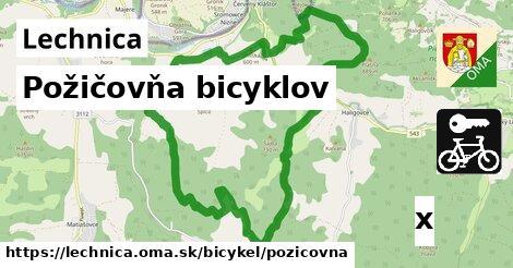 požičovňa bicyklov v Lechnica