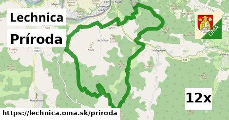 príroda v Lechnica