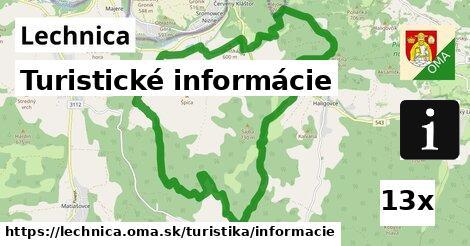 turistické informácie v Lechnica