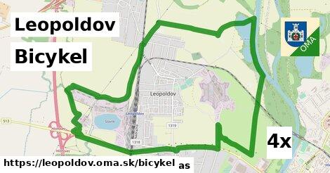 bicykel v Leopoldov