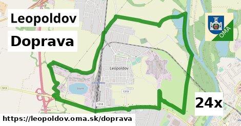 doprava v Leopoldov