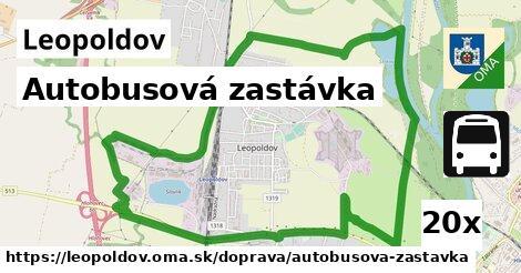 ilustračný obrázok k Autobusová zastávka, Leopoldov