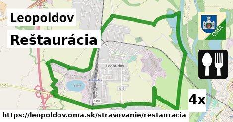 reštaurácia v Leopoldov