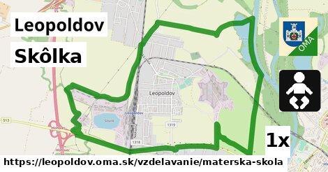 ilustračný obrázok k Skôlka, Leopoldov