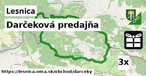 darčeková predajňa v Lesnica