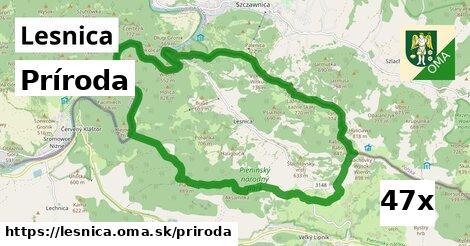 príroda v Lesnica