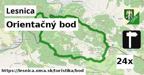 orientačný bod v Lesnica