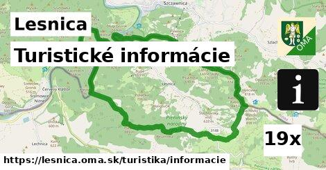 turistické informácie v Lesnica