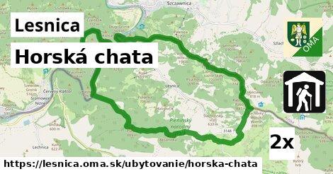 horská chata v Lesnica