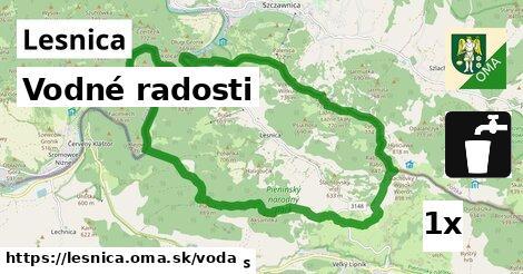 vodné radosti v Lesnica
