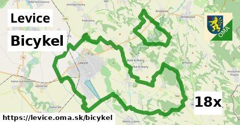 bicykel v Levice