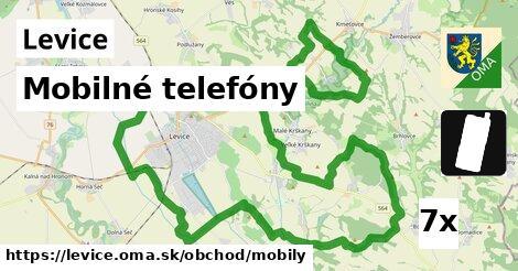 ilustračný obrázok k Mobilné telefóny, Levice