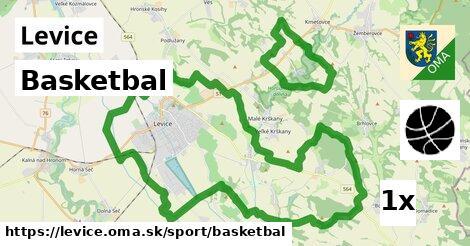 ilustračný obrázok k Basketbal, Levice