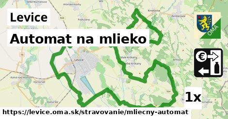 Automat na mlieko, Levice