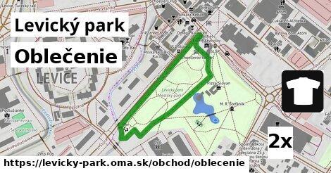 ilustračný obrázok k Oblečenie, Levický park