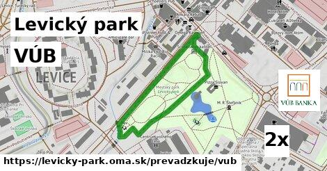ilustračný obrázok k VÚB, Levický park