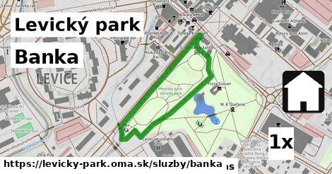 ilustračný obrázok k Banka, Levický park