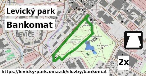 ilustračný obrázok k Bankomat, Levický park