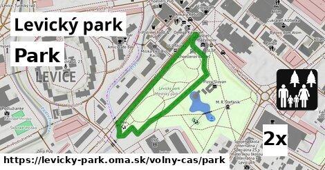 ilustračný obrázok k Park, Levický park