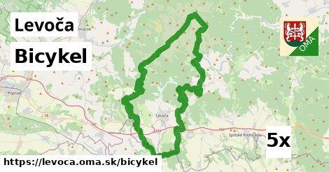 bicykel v Levoča
