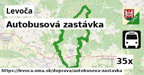 Autobusová zastávka, Levoča