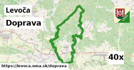 doprava v Levoča