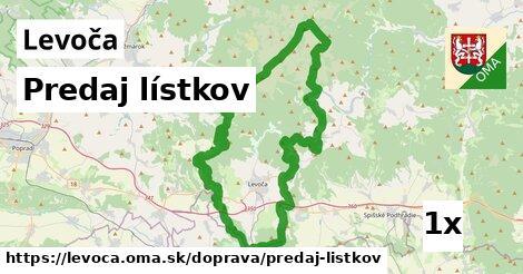 ilustračný obrázok k Predaj lístkov, Levoča