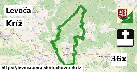 Kríž, Levoča