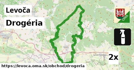 Drogéria, Levoča