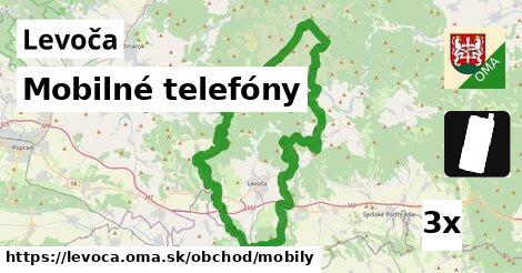Mobilné telefóny, Levoča