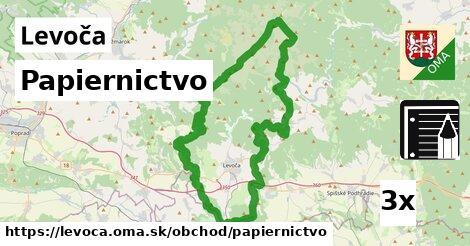 Papiernictvo, Levoča