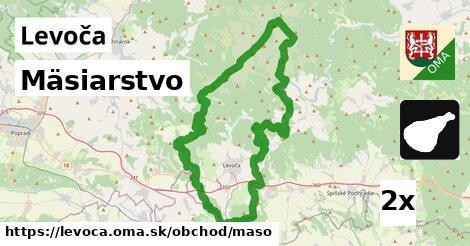 ilustračný obrázok k Mäsiarstvo, Levoča