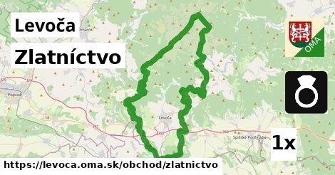 ilustračný obrázok k Zlatníctvo, Levoča