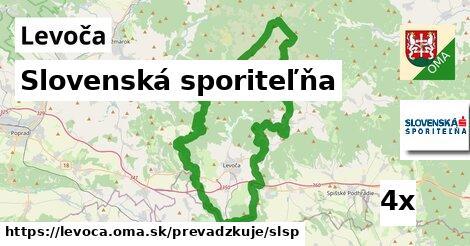 ilustračný obrázok k Slovenská sporiteľňa, Levoča