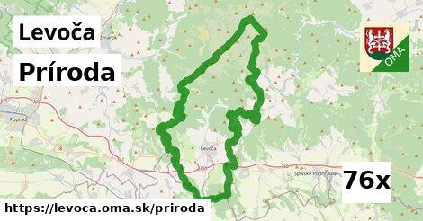 príroda v Levoča