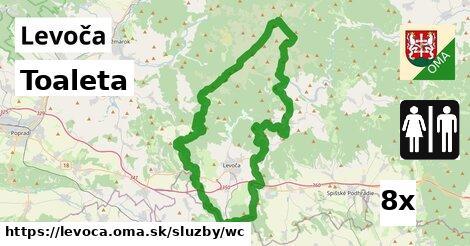 ilustračný obrázok k Toaleta, Levoča