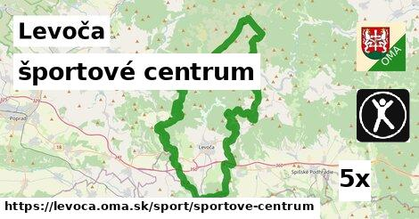 športové centrum, Levoča