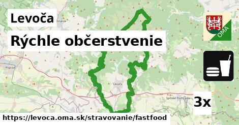 Rýchle občerstvenie, Levoča