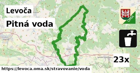 Pitná voda, Levoča