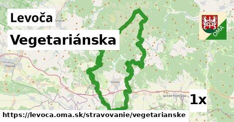 ilustračný obrázok k Vegetariánska, Levoča