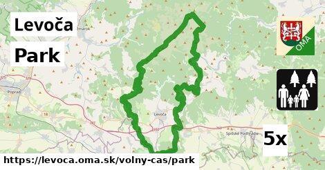ilustračný obrázok k Park, Levoča