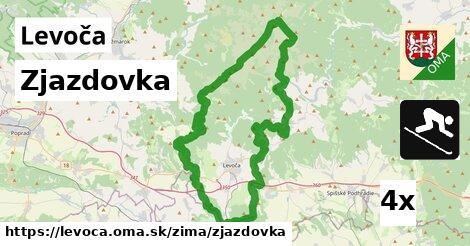 ilustračný obrázok k Zjazdovka, Levoča